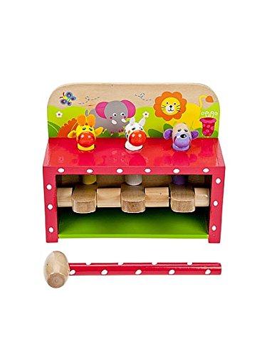 Safari Klopf- & Hämmerspielzeug von Mousehouse Geschenke
