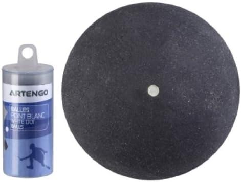 Artengo SB 710 - Pelota de squash (negra con punto blanco): Amazon ...