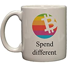 Bitcoin Spend Different Parody 11oz Coffee Mug