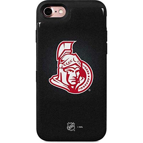 Ottawa Senators iPhone 8 Case - Ottawa Senators Black Background | NHL X Skinit Wallet Case