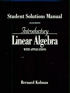 introductory linear algebra with book by bernard kolman rh thriftbooks com Linear Algebra Notes Linear Math Problems