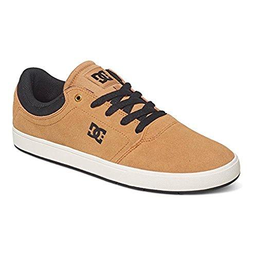 Dc Mens Crisis Lace-up Sneaker Zand