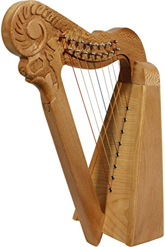Roosebeck 8-String Parisian Mini Harp - Lacewood by Roosebeck