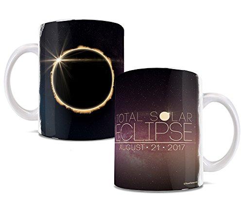 Total Solar Eclipse August 2017 Ceramic Coffee Or Tea Mug   11 Ounces