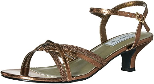 - Touch Ups Women's Melanie Dress Sandal, Bronze, 9 M US