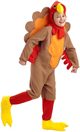 Forum Novelties Fleece Turkey Costume, Child's Medium