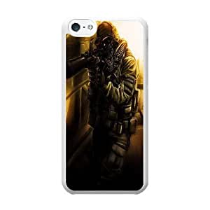 iPhone 5c Case White call of duty ghosts_004
