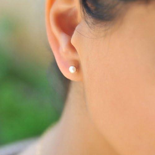 Captive bead ring-closure flor piercing corazón Helix Tragus circonita #43