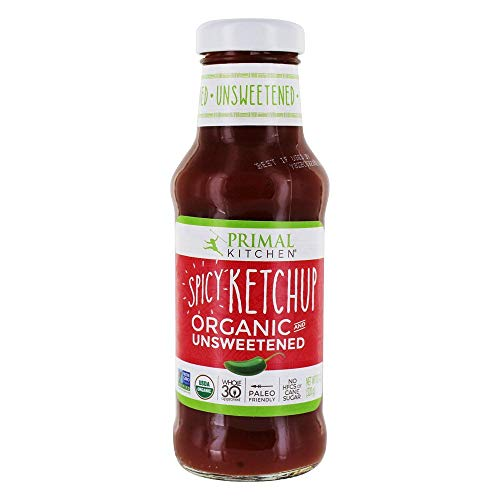 Primal Kitchen Spicy Ketchup Organic and Unsweetened 11.3 oz