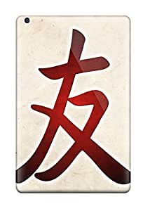 ARmZxAa300ZFqgC Barbara Anthony Awesome Case Cover Compatible With Ipad Mini/mini 2 - Chinese Symbol For Friend