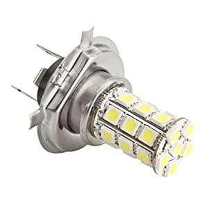 NBCVFUINJ® h4 5050 SMD 27-LED 1.44w 260mA bombilla de luz blanca para coche (12V DC)