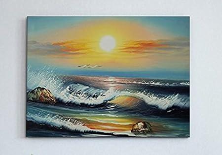 zeegezicht schilderij