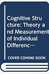 Cognitive Structure: Theory and Measurement of Individual Differences Capa comum
