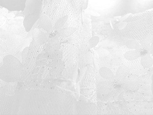 Pink Dresses Little 9 Girl Big Flower WEONEDREAM White Girl 1 qpXc8P