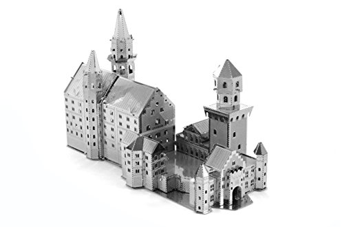 Castle Model (Fascinations Metal Earth Neuschwanstein Castle 3D Metal Model Kit)