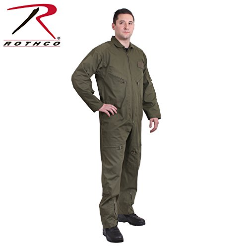 (Rothco Flight Coverall, Olive Drab, X-Small)