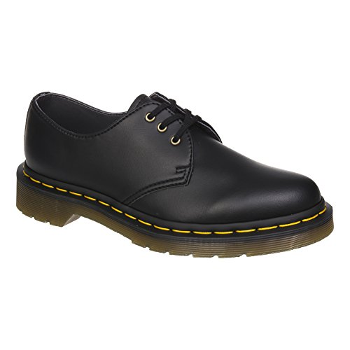 Dr. Martens Unisex-Adult's 1461 Vegan Felix Rub Off Shoes - 6.5 D(M) US/9 B(M) US, (Black) (Rub Felix)