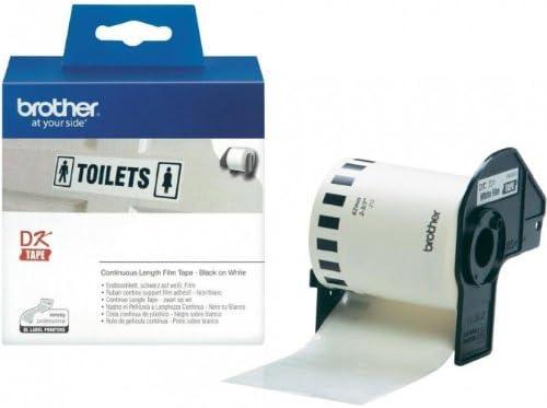 Endlosrolle 62mm P-Touch QL 560 Brother Etiketten 62 mm x 15, 24 meter, Film, 1 Endlosetikett, DK Label für Ptouch QL560, QL 560VP