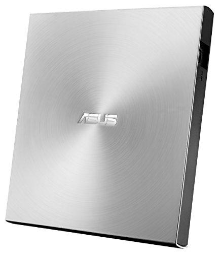 Asus Zen Drive 2 externer Ultra SLIM DVD Brenner (inkl. 2 M-Disk Rohlingen, Brennsoftware & Nero Backup App, 8x DVD±R, 6x DVD±R DL, 5x DVD-RAM, USB 2.0) silber