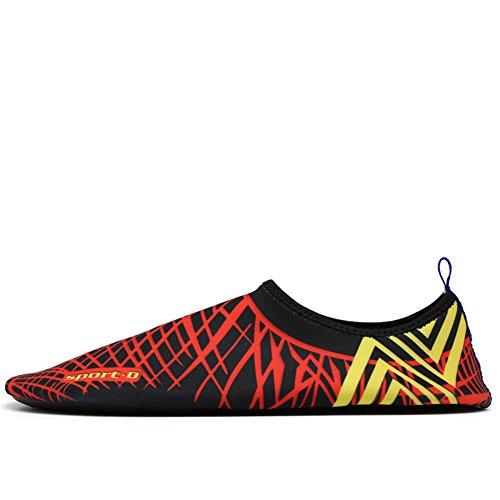 la de Skin Aqua acuático de de la Nadada Saguaro Resaca la de Descalzo Calcetines Playa Yoga Shoes para 147wvnF