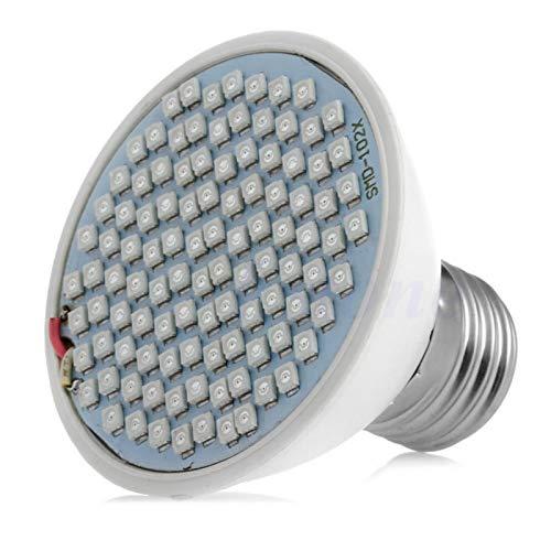 BELONG E27 Plant Grow Light 106 LED Lamp Bulb Flower Veg Indoor Hydroponic Full Spectrum L15