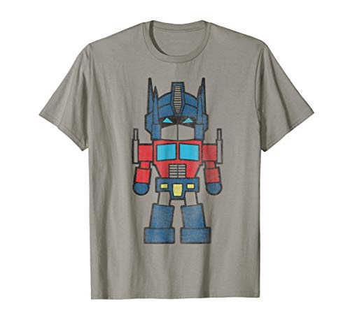 - Transformers Mini Optimus Prime Figure Graphic T-Shirt