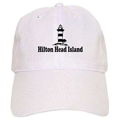 (CafePress - Hilton Head Island SC - Lighthouse Design - Baseball Cap with Adjustable Closure, Unique Printed Baseball Hat)