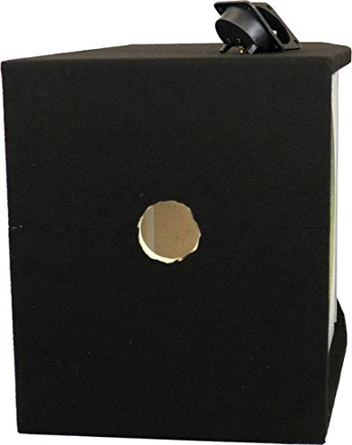 DEEJAYLED 2X15SQUARE Double 15 Inch Vented Square Woofer Box