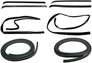 GM1390101 Make Auto Parts Manufacturing Front Driver or Passenger Side Door Weatherstrip Seal For For Chevrolet C10 K10 K30 1977 1978 1979 1980 1981 1982 1983 1984 1985
