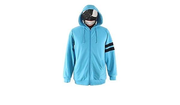 cosplay? tokyo ghoul Kaneki Ken azul de algodón traje de ...