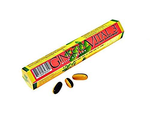 HealthAid Ginkovital +3 - 30 Capsules