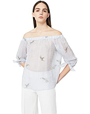 Mango Women's Silk Blouse