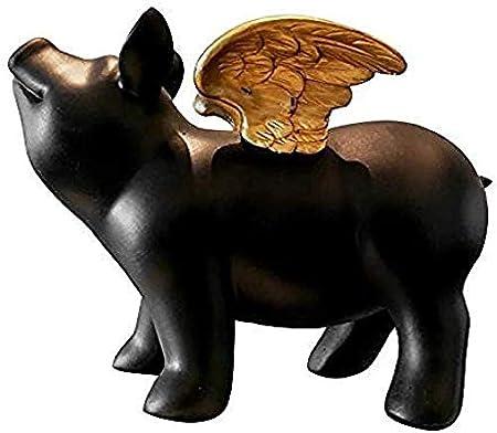 Detazhi Decoración de Escritorio de Colección Figuras Jardín Animales Figuras de Animales Hucha de Cerdo decoración de la decoración del hogar artesanía s: Amazon.es: Hogar