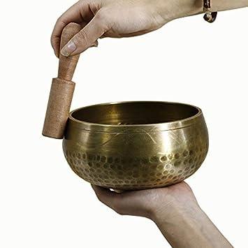 Amazon.com: DZX - Juego de cuencos tibetanos para terapia ...