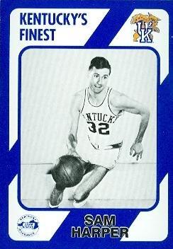 Sam Harper Basketball Card (Kentucky) 1989 Collegiate Collection #68
