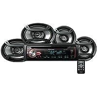Pioneer DXT-X2969UI DEH-X2900UI CD Player Receiver + 6.5 & 6x9 Speakers Combo