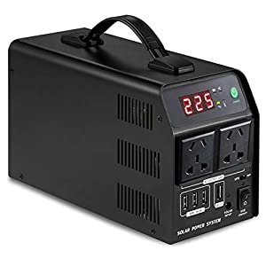 CCFCF 500W Generatore Portatile Power, 120000mAh 520WH Batteria Ricaricabile Alimentazione di Emergenza, Potenza Mobile… 41DMjSSIcPL. SS300