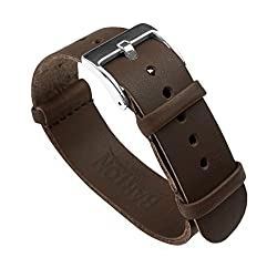 Image of the product 22mm Saddle Brown that is listed on the catalogue brand of BARTON WATCH BANDS.