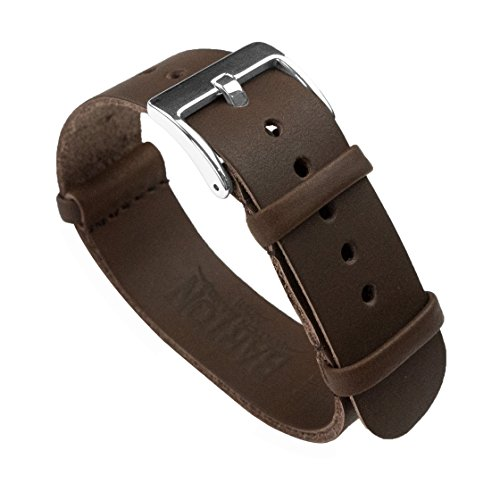 BARTON Leather NATO Style Watch Straps