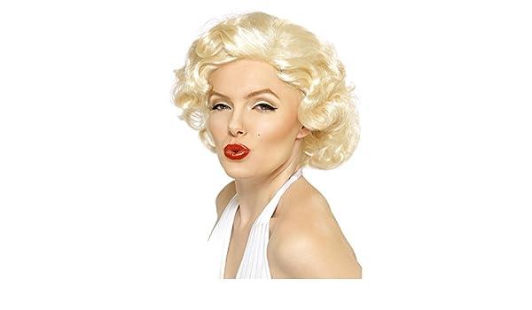 New Film and Tv Fancy de Josephine kimberling para fiesta de Marilyn Monroe peluca pantalón corto corte traje de neopreno para mujer accesorios para la ...