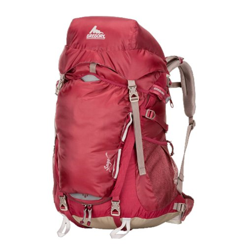 Gregory Sage 45 Backpack, Rosewood Red, Small, Outdoor Stuffs