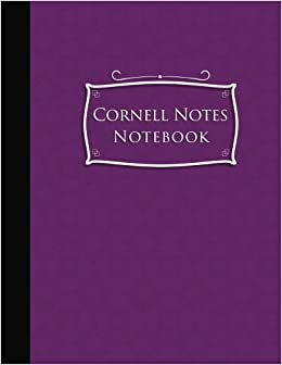 Cornell Notes Notebook Cornell Note Taking Pages Cornell Notes