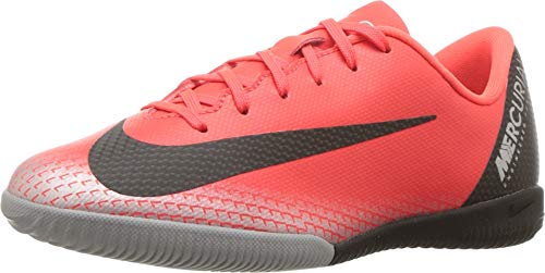NIKE Youth Soccer Jr. Mercurial Vapor 12 Indoor Shoes (3.5 M US Big Kid) (Soccer Youth Shoes Indoor 12)