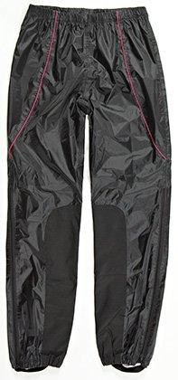 Joe Rocket RS2 Womens 2-Piece Motorcycle Rain Suit Black//Black, Medium
