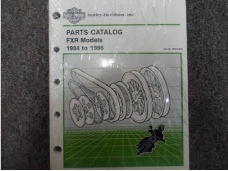 1984 1985 1986 Harley Davidson FXR Parts Catalog Manual OEM BOOK x