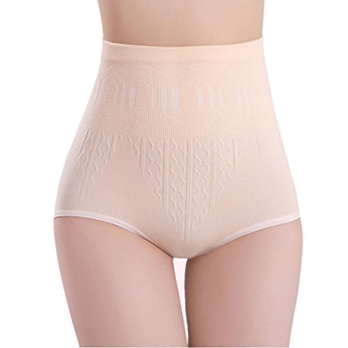 - Ikevan Briefs Slimming Pants:Sexy Womens High Waist Tummy Control Body Shaper Briefs Slimming Pants (Skin)