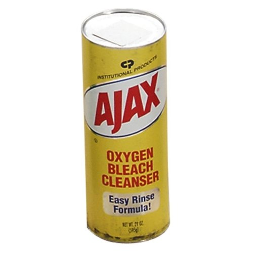 AJAX Oxygen Bleach Cleanser - Powder - 21 oz (1.31 lb) - Ajax Oxygen Bleach Cleanser