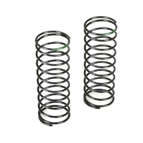 (Team Losi Racing Front Shock Spring, 3.5 Rate, Green: 22T, TLR5182)