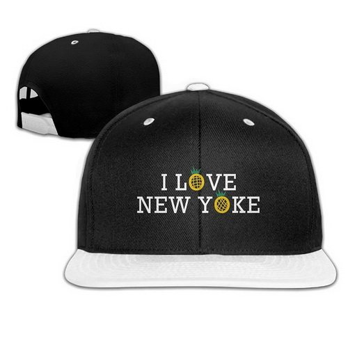 4a8d2ee67fa Image Unavailable. Image not available for. Color  New York Pineapple Unisex  Hip-Hop Adjustable Snapback Hat Casual Baseball Cap ...