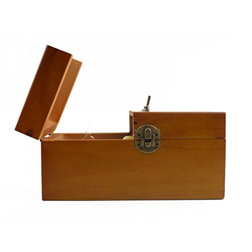 Willcomes Wooden Turns Itself Off Useless Box Leave Me Alone